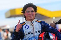 Pedro Piquet fête sa victoire