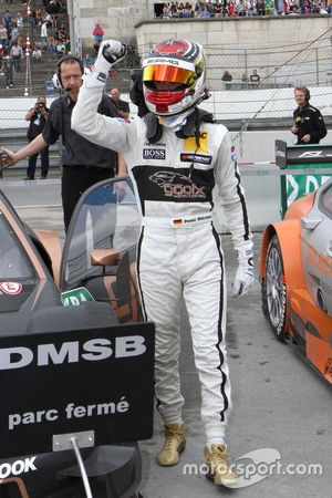 Il vincitore Pascal Wehrlein, HWA AG Mercedes-AMG C63 DTM
