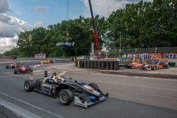 Шарль Леклер, Van Amersfoort Racing Dallara Volkswagen; Пьетро Фиттипальди, Fortec Motorsports Dalla