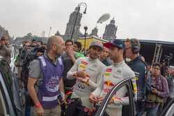Carlos Sainz Jr. Red Bull Racing y Daniel Ricciardo, Red Bull Racing