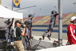 Rahal Letterman Lanigan Racing celebran con Graham Rahal en la línea