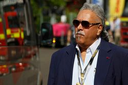 Vijay Mallya de Force India