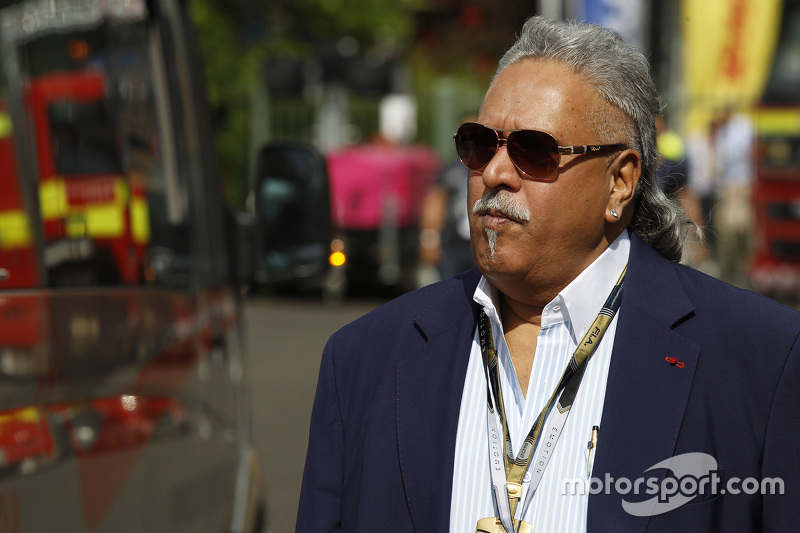 Vijay Mallya de Force India