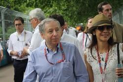 Presidente de la FIA, Jean Todt,