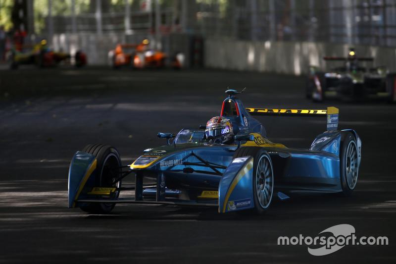 Sébastien Buemi, da e.Dams-Renault, foi o segundo