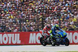 Aleix Espargaro, Team Suzuki MotoGP e Andrea Dovizioso, Ducati Team