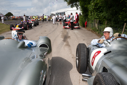 Sir Jackie Stewart et Stirling Moss