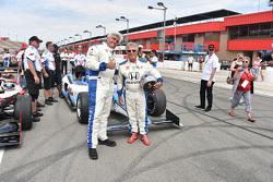 Jay Leno ve Mario Andretti