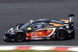 #55 FFF Racing, McLaren 650S GT3: Vitantonio Liuzzi, Hiroshi Hamaguchi