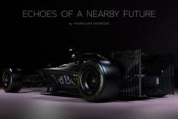 Andries van Overbeeke tarafından yapılan konsept Formula 1 araçları
