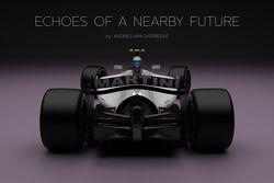 Autos de concepto de Fórmula 1 por Andries van Overbeeke