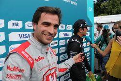 Jérôme d'Ambrosio, Dragon Racing, und Nelson Piquet jr., China Racing