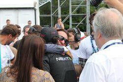 Nelson Piquet jr., China Racing, und Emerson Fittipaldi