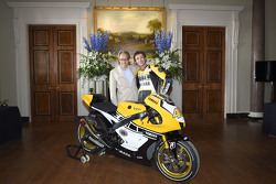 Lord March et Valentino Rossi, Yamaha Factory Racing
