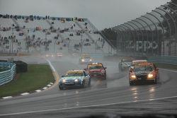 Rain race action
