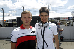 Marvin Kirchhofer and Esteban Ocon