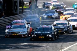 Start: Bruno Spengler, BMW Team MTEK BMW M4 DTM leads