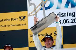 Podium, Winner Robert Wickens, HWA AG Mercedes-AMG C63 DTM