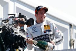 Podium, Christian Vietoris, HWA AG Mercedes-AMG C63 DTM