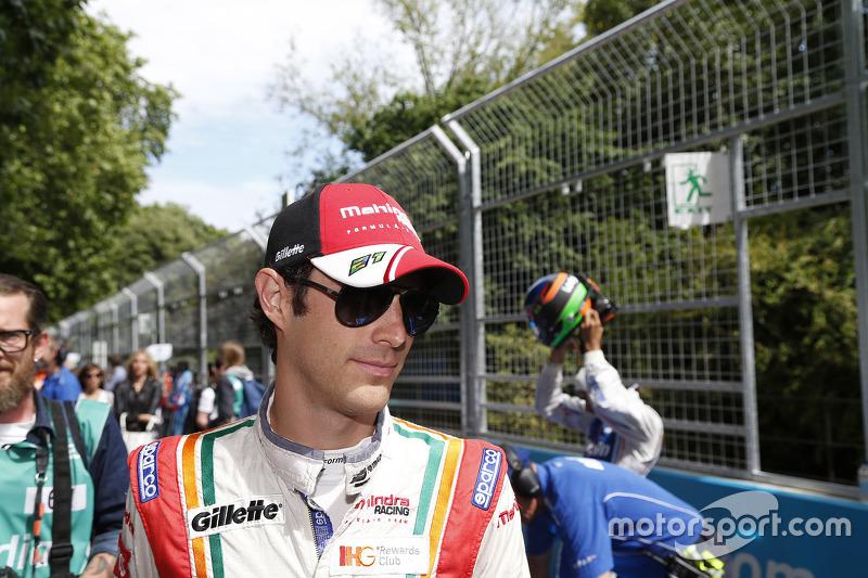 Bruno Senna terminou a corrida na quarta posição