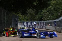 Salvador Duran, Amlin Aguri and Lucas di Grassi, Audi Sport Team ABT