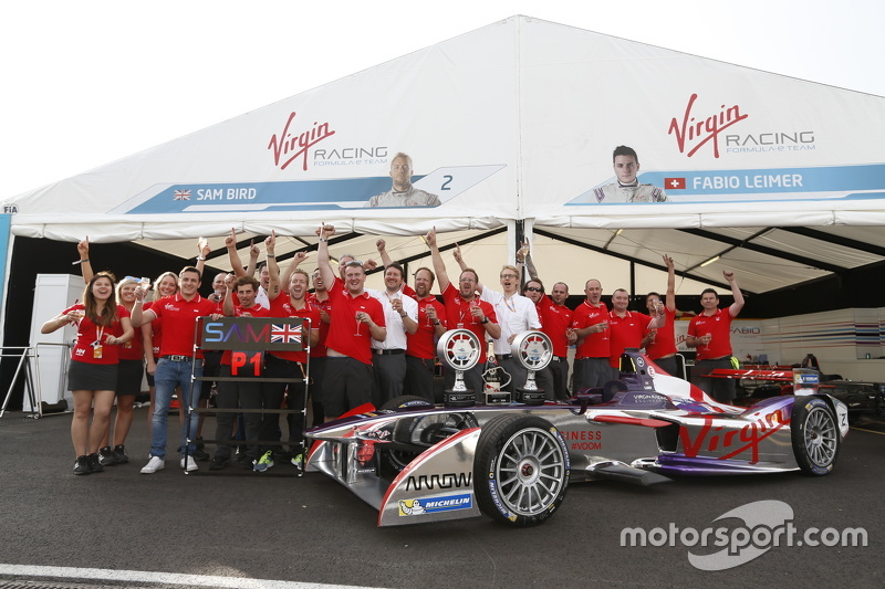 Fabio Leimer und Sam Bird, Virgin Racing