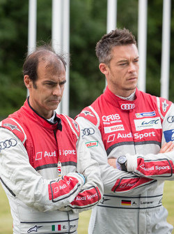 Emanuele Pirro and Andre Lotterer