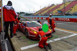 #63 Scuderia Corsa Ferrari 458 Italia: Bill Sweedler, Townsend Bell