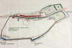 Posible Pista de Imola para Fórmula E