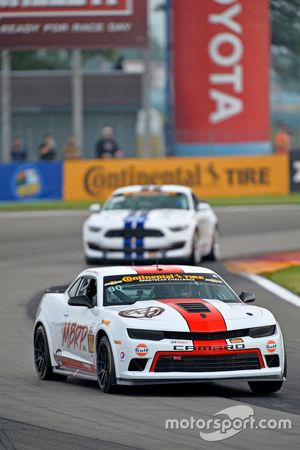 #80 Mantella Autosport, Chevrolet Camaro Z/28.R: Martin Barkey, Kyle Marcelli