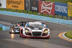 #48 Paul Miller Racing, Audi R8 LMS: Christopher Haase, Dion von Moltke, Bryce Miller