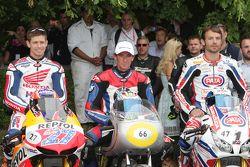 Casey Stoner, Troy Corser, Sylvain Guintoli