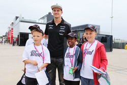 Nico Hulkenberg, Sahara Force India F1 met F1 in Schools kinderen