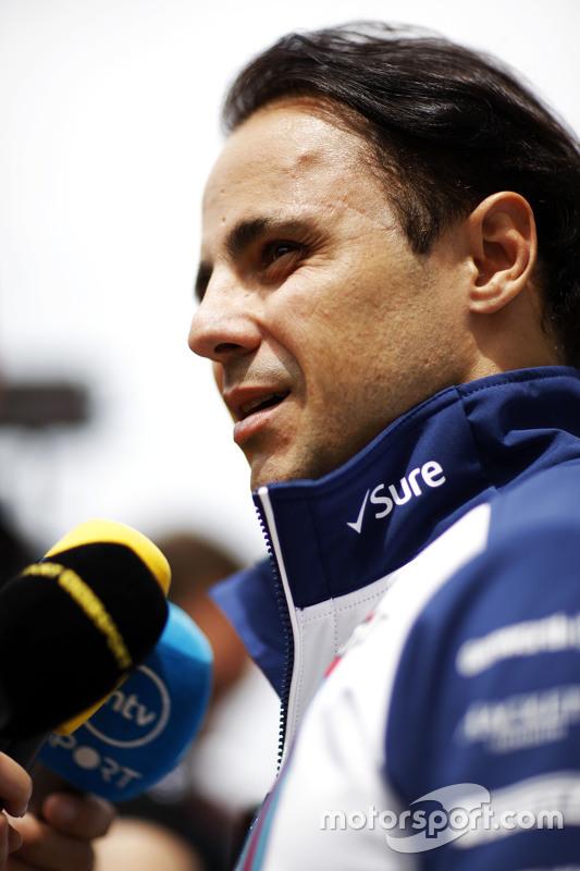 Felipe Massa, Williams dando entrevistas