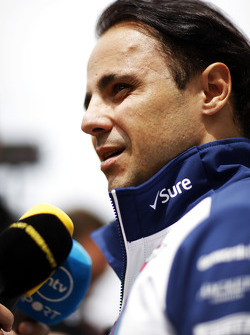 Felipe Massa, Williams dando entrevistas