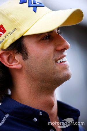Felipe Nasr, Sauber F1 Team with the media