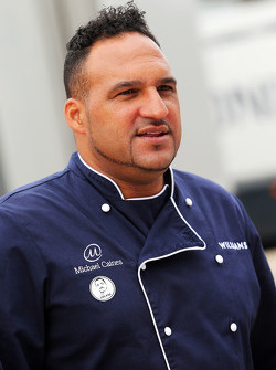 Michael Caines, Williams Celebrity Chef.
