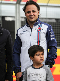 Felipe Massa, Williams en zoon Felipinho Massa