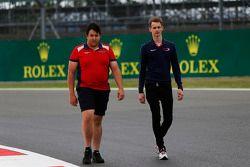 Emil Bernstorff, Arden International walks the track