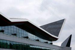 Une vue de l'aile de Silverstone