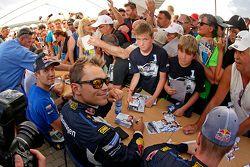 Andreas Mikkelsen and Sébastien Ogier, Volkswagen Polo WRC, Volkswagen Motorsport