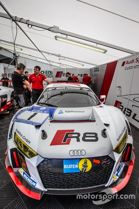 #1 Phoenix Racing, Audi R8 LMS