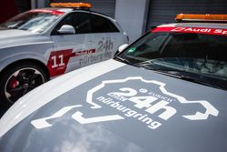24 Hours of the Nürburgring Audi service vehicle, logo detail