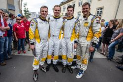 #253 Lubner Motorsport, Opel Astra OPC Cup: Daniel Bohr, Michael Brüggenkamp, Robert Schröder, Roger Vögeli