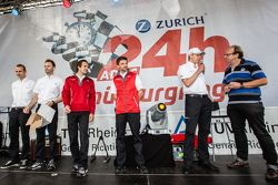 Phoenix Racing Audi R8 LMS: Christopher Haase, René Rast, Markus Winkelhock, Christian Mamerow, Fran