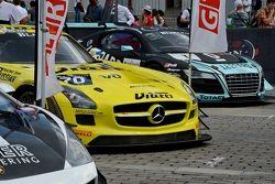 Mercedes SLS GT3. Алексей Карачёв и Кристоф Бушю