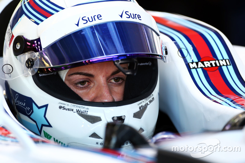 Fórmula Uno Susie Wolff, Williams FW37, piloto en desarrollo