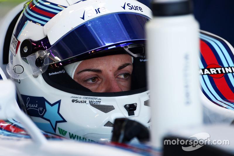 Susie Wolff, piloto de desenvolvimento Williams FW37