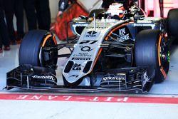 Nico Hulkenberg, Sahara Force India F1 VJM08 voorvleugel