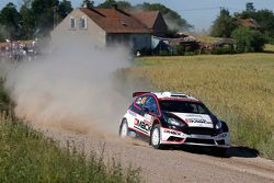 Sander Parn y James Morgan, Ford Fiesta R5
